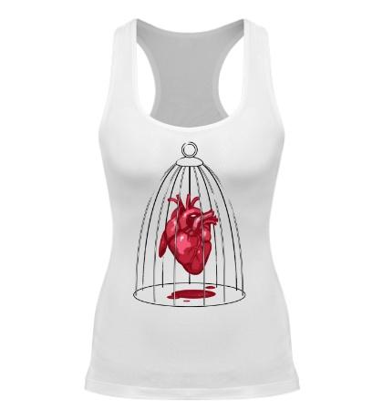 Женская борцовка «Сердце в клетке»