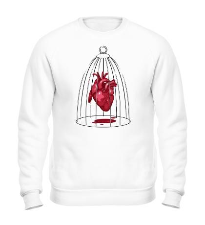 Свитшот «Сердце в клетке»