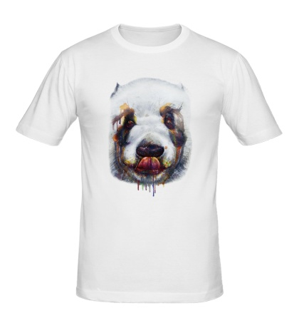 Мужская футболка Сладкая панда