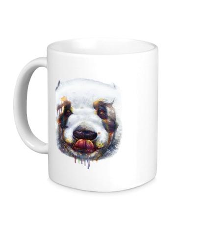 Керамическая кружка «Сладкая панда»
