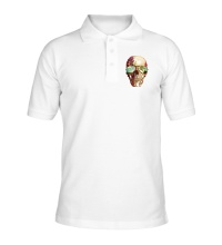 Рубашка поло Летний череп