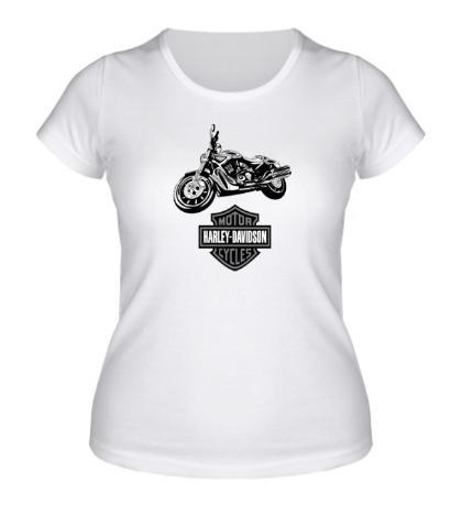 Женская футболка Harley-Davidson Motorcycles