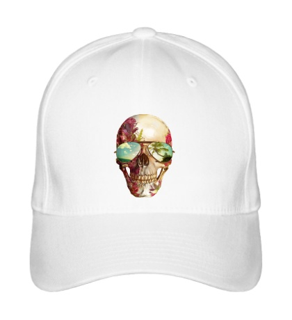 Бейсболка «Летний череп»