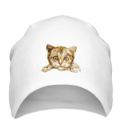 Шапка Любящий котик