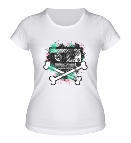 Женская футболка «Dead Cassette»