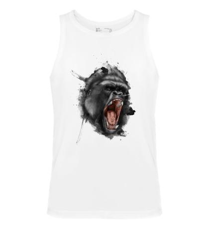 Мужская майка Злая горилла