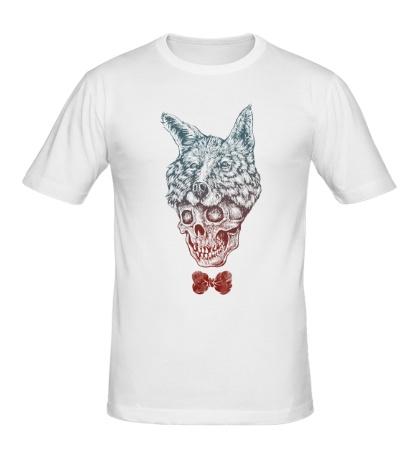 Мужская футболка Fox skull
