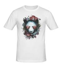 Мужская футболка Силуэт Медведя