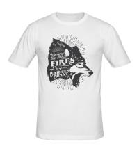 Мужская футболка Warming By The Fires