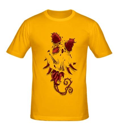 Мужская футболка Феникс внутри