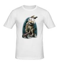 Мужская футболка Космический заяц