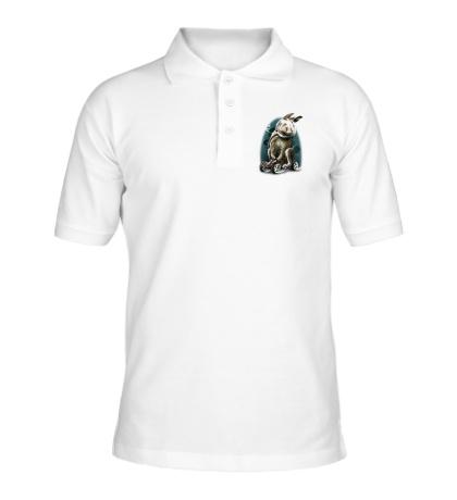 Рубашка поло «Космический заяц»