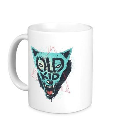 Керамическая кружка Wolf Old Kid