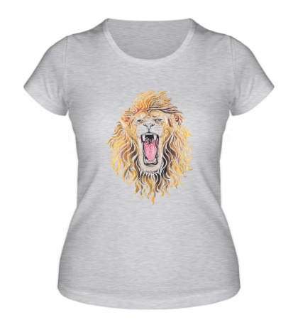 Женская футболка Swirly Lion