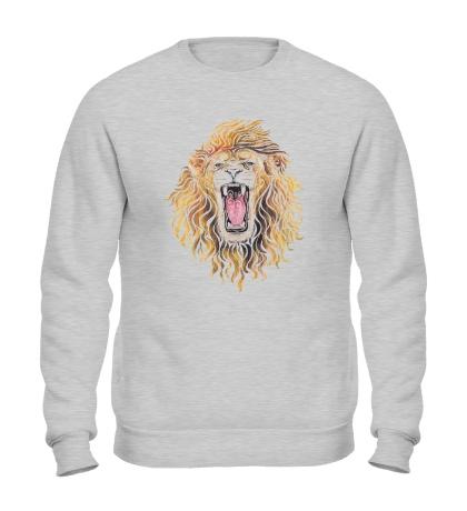 Свитшот Swirly Lion