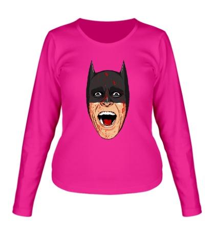 Женский лонгслив Batman psycho