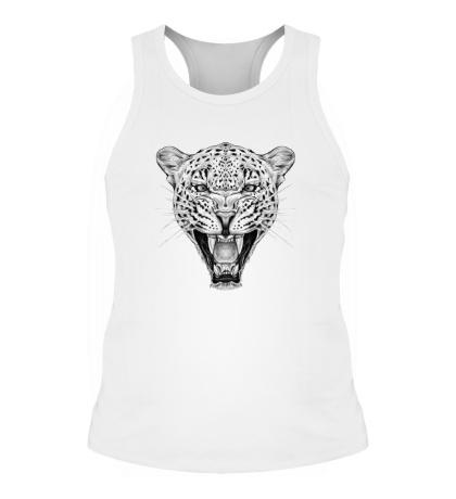 Мужская борцовка Взгляд леопарда