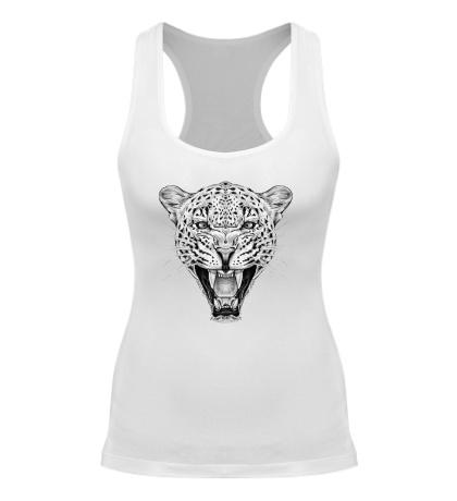 Женская борцовка Взгляд леопарда