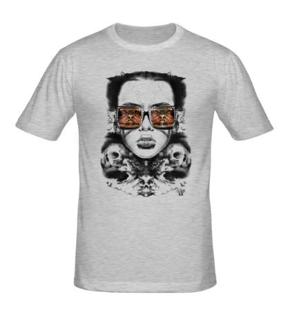 Мужская футболка Ночное виденье