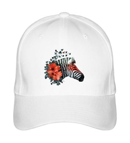 Бейсболка Цветущая зебра