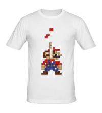Мужская футболка Супер Марио Тетрис