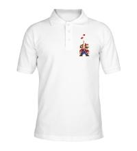 Рубашка поло Супер Марио Тетрис