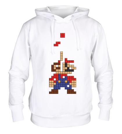 Толстовка с капюшоном Супер Марио Тетрис