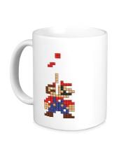 Керамическая кружка Супер Марио Тетрис