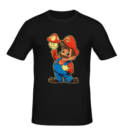 Мужская футболка Дедушка Марио