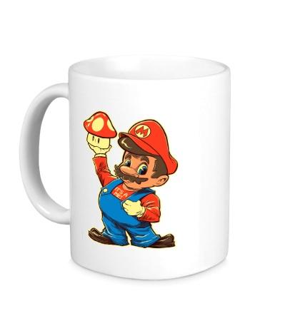Керамическая кружка Дедушка Марио