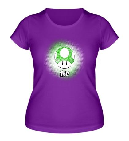 Женская футболка 1 up life !
