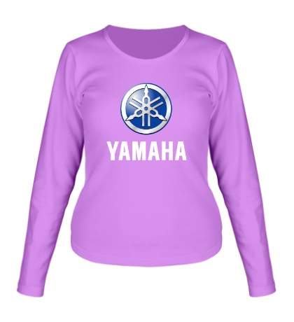 Женский лонгслив Yamaha: Silver Logo