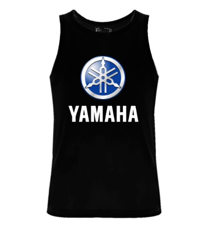 Мужская майка Yamaha: Silver Logo