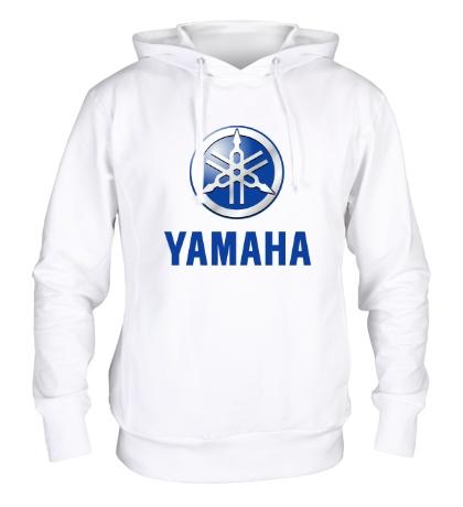 Толстовка с капюшоном Yamaha: Silver Logo