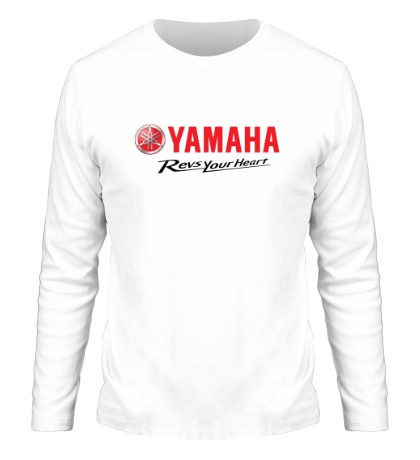Мужской лонгслив Yamaha: Revs your heart