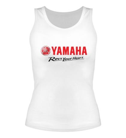 Женская майка Yamaha: Revs your heart