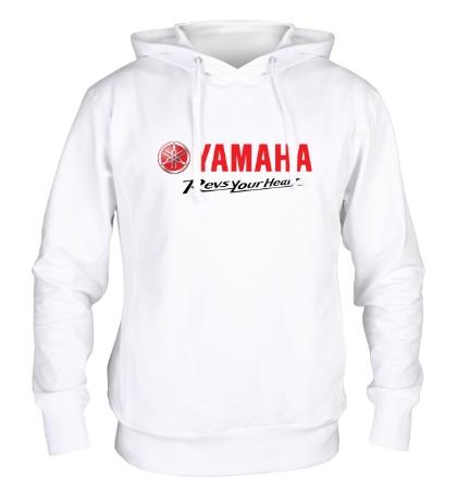 Толстовка с капюшоном Yamaha: Revs your heart