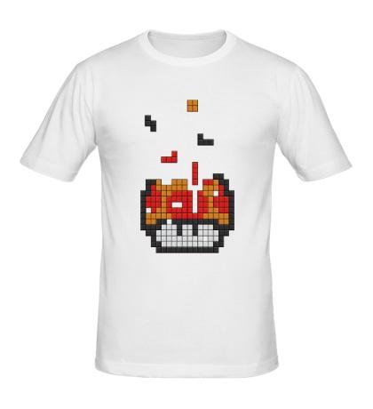 Мужская футболка Марио Тетрис