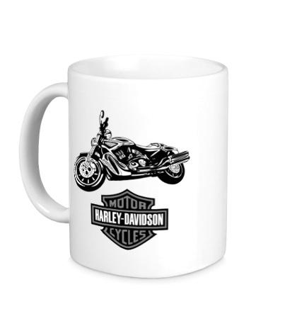 Керамическая кружка Harley-Davidson Motorcycles
