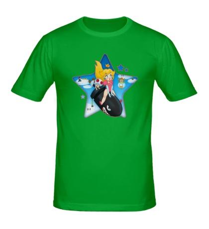 Мужская футболка Super Peach World