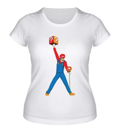 Женская футболка Марио Меркьюри