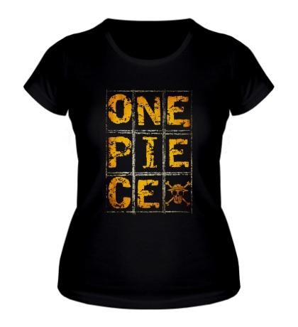 Женская футболка Grudge one piece