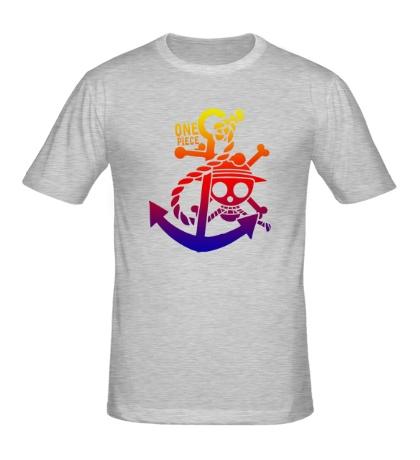 Мужская футболка One Piece Anchor