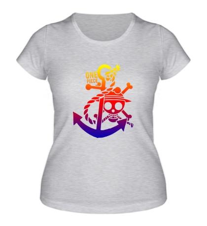 Женская футболка One Piece Anchor