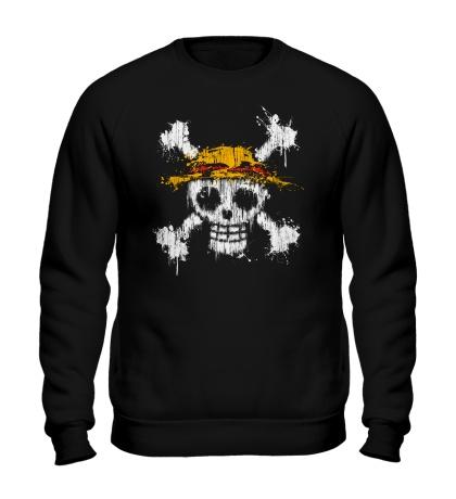 Свитшот Флаг пиратов соломенной шляпы