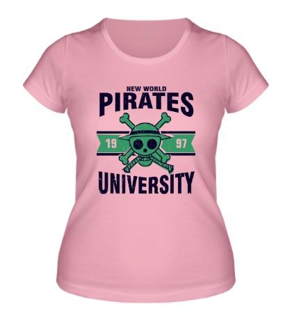 Женская футболка New World Pirates