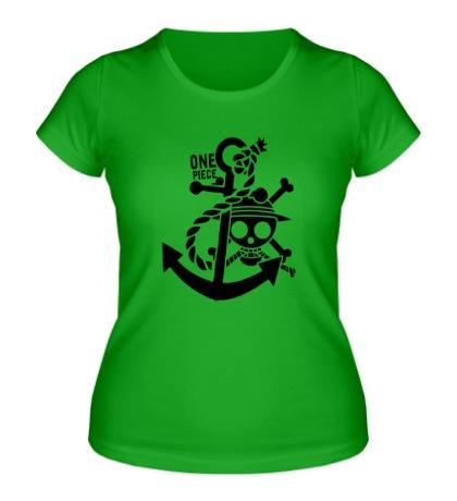 Женская футболка Pirate: One Piece