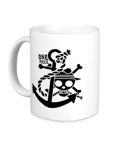 Керамическая кружка Pirate: One Piece
