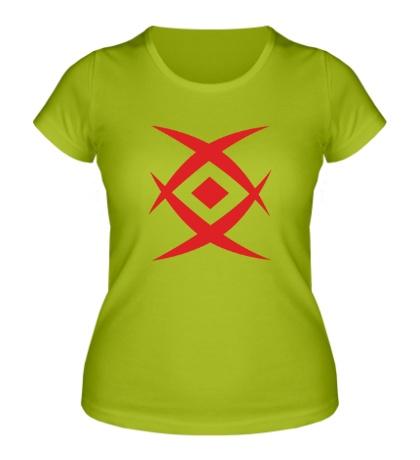 Женская футболка Метка Монки Д. Драгона