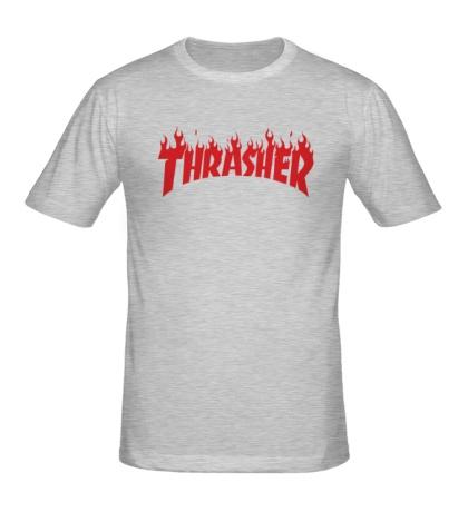Мужская футболка Thrasher fire